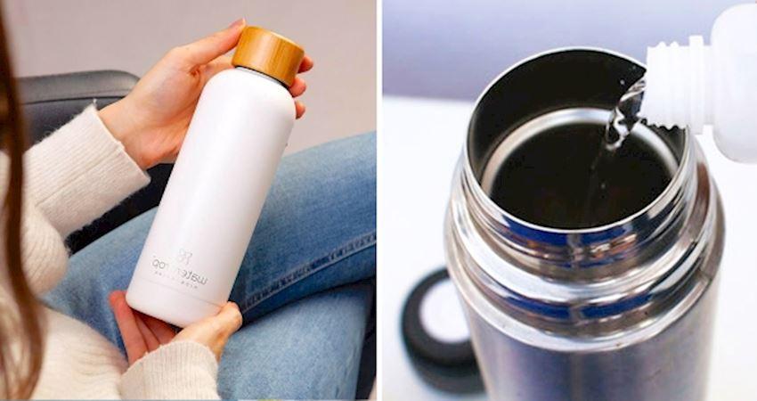 頑固茶垢、咖啡漬掰掰! 6招「徹底清潔保溫瓶」喝飲料不再有異味
